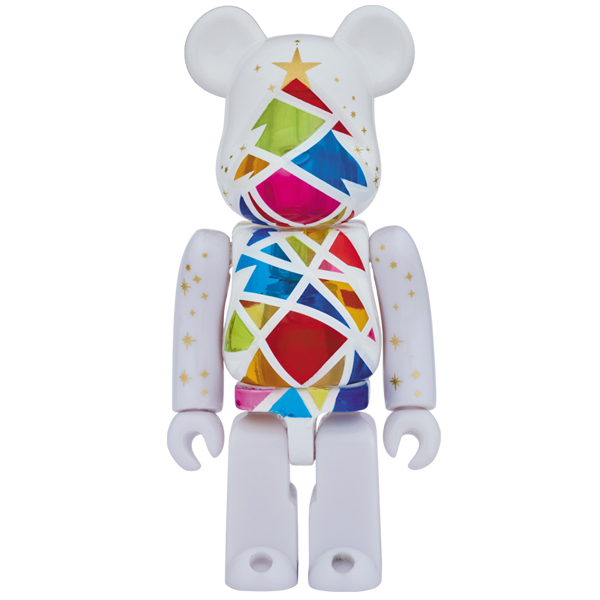 2016 Xmas BE@RBRICK Stained-glass tree Snow white Ver. 100% (直営店限定モデル)