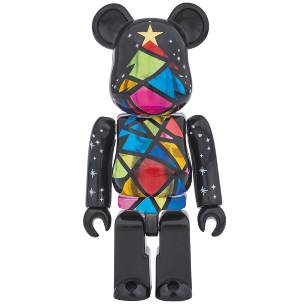 2016 Xmas BE@RBRICK Stained-glass tree Ver. 100%