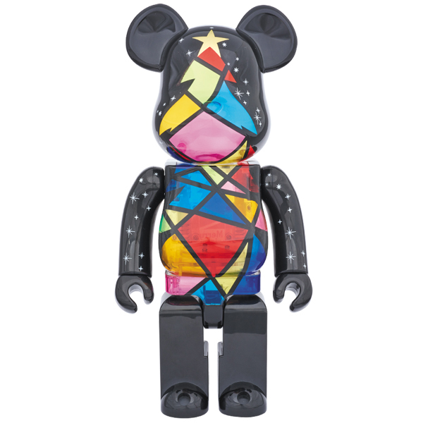 2016 Xmas BE@RBRICK Stained-glass tree Ver.400%