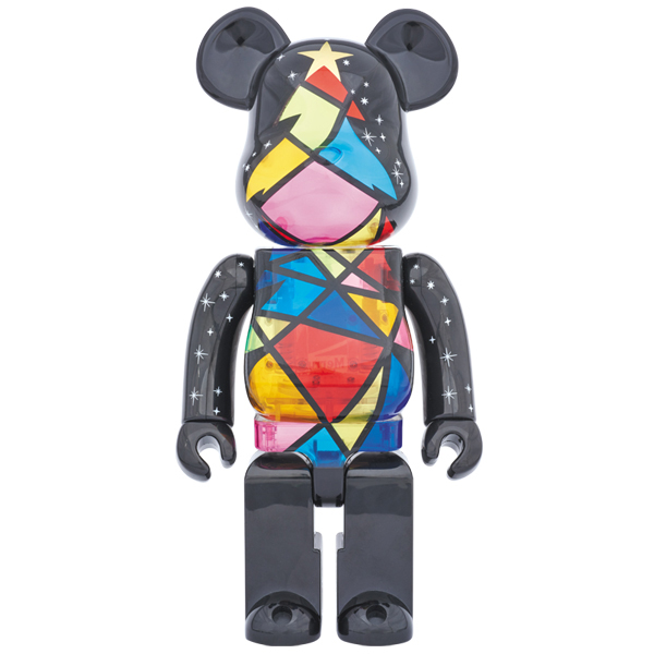 2016 Xmas BE@RBRICK Stained-glass tree Ver. 1000% (直営店限定モデル)