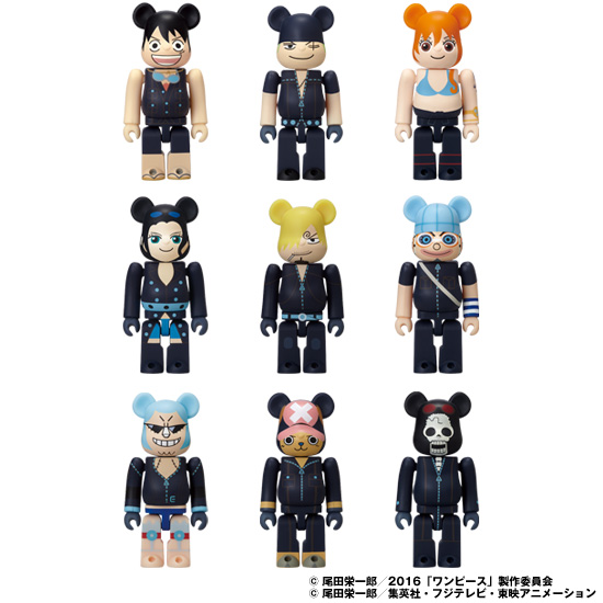 BE@RBRICK ONE PIECE FILM GOLD ver.