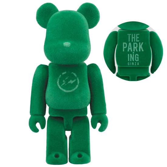 BE@RBRICK fragment design THE PARK-ING GINZA 100%