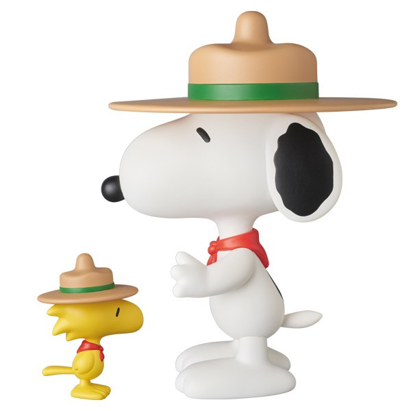 VCD BEAGLE SCOUT SNOOPY & WOODSTOCK