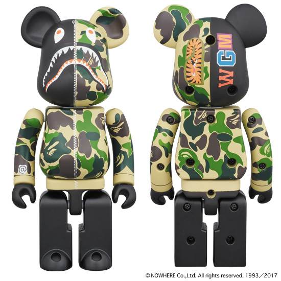 超合金 ABC CAMO SHARK BE@RBRICK