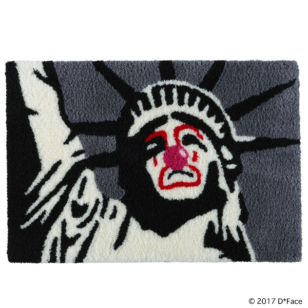 "RUG MAT ""SAD LIBERTY"""