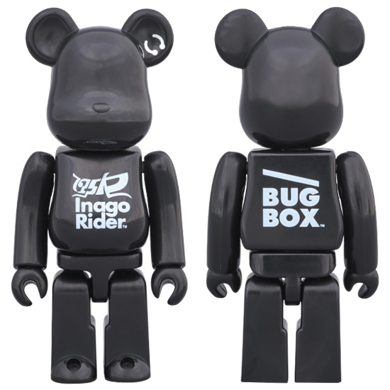 175R BE@RBRICK BLACK STAR