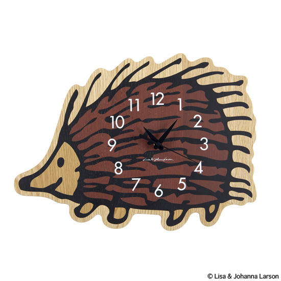 "WALL CLOCK ""HEDGEHOG"" x KARIMOKU"