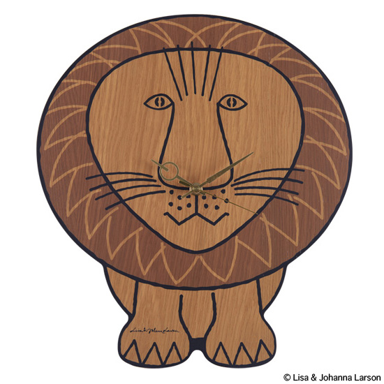 "WALL CLOCK ""LION"" x KARIMOKU"