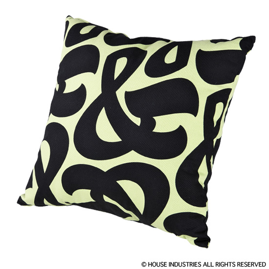 "SQUARE CUSHION ""AMPERSAND"""