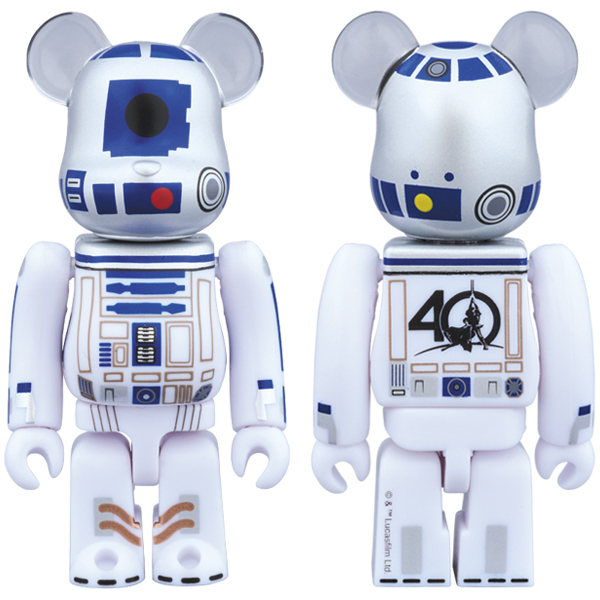 BE@RBRICK R2-D2(TM)(STAR WARS(TM) 40th Anniv. Ver.)