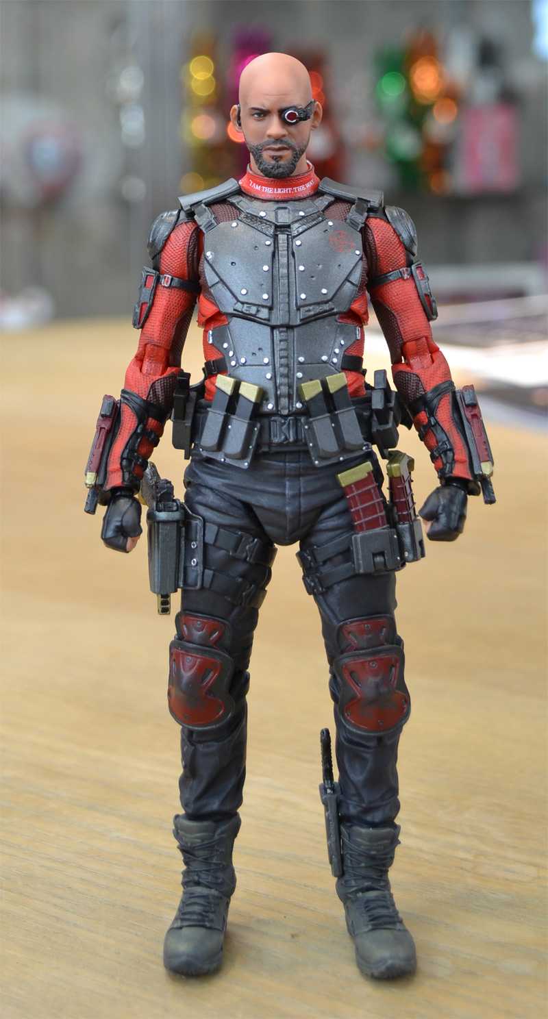 MAFEX DEADSHOT/MAFEX THE JOKER(SUITS Ver.)/ KNIGHTMARE BATMAN サンプルレビュー
