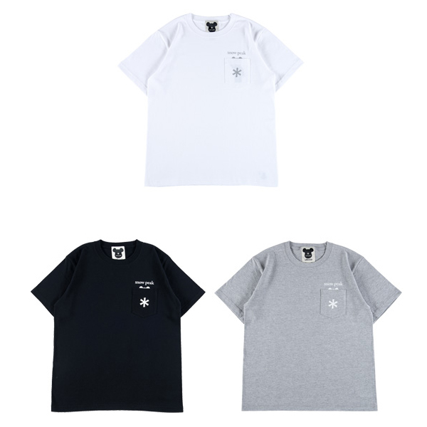 "POCKET TEE ""LOGO"""