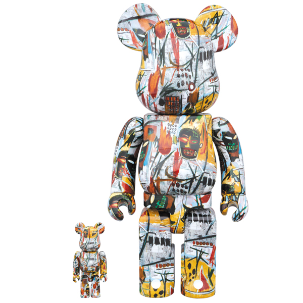 BE@RBRICK JEAN-MICHEL BASQUIAT 100% & 400%