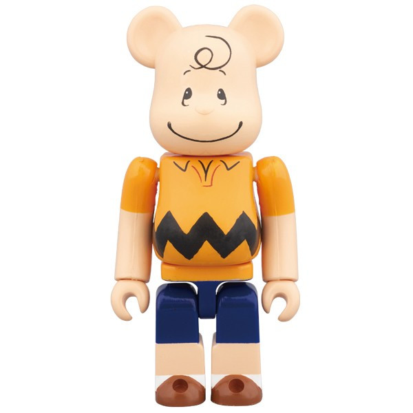 BE@RBRICK CHARLIE BROWN 100%