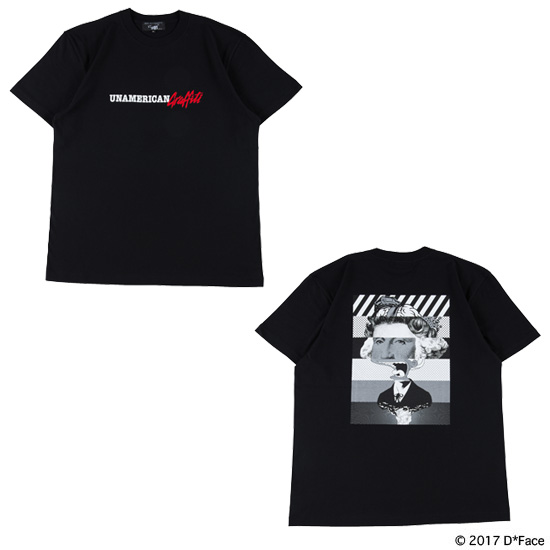 "TEE ""UNAMERICAN GRAFFITI"" BLACK"