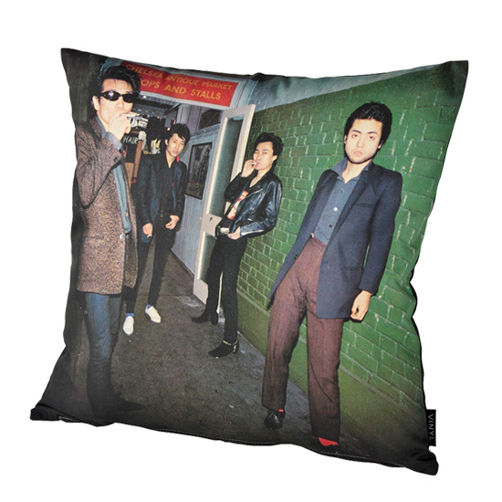 "VINYL""THE MODS"" CUSHION FIGHT OR FLIGHT"