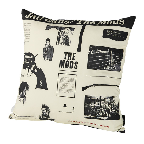 "VINYL ""THE MODS"" CUSHION JAIL GUNS"