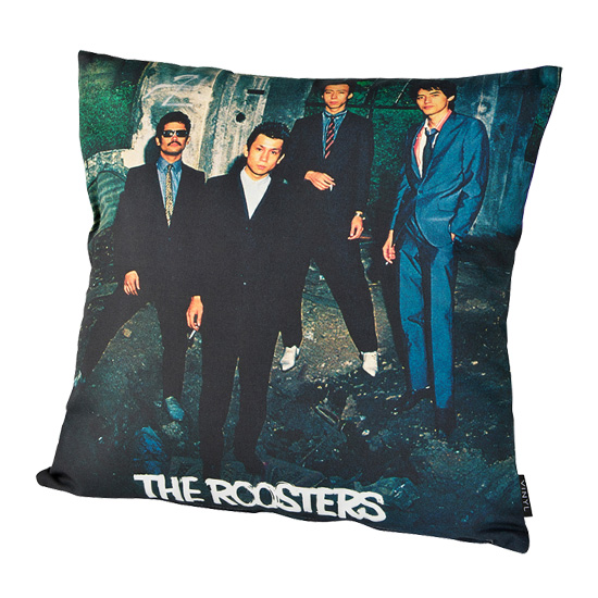 "VINYL ""THE ROOSTERS"" CUSHION THE ROOSTERS"