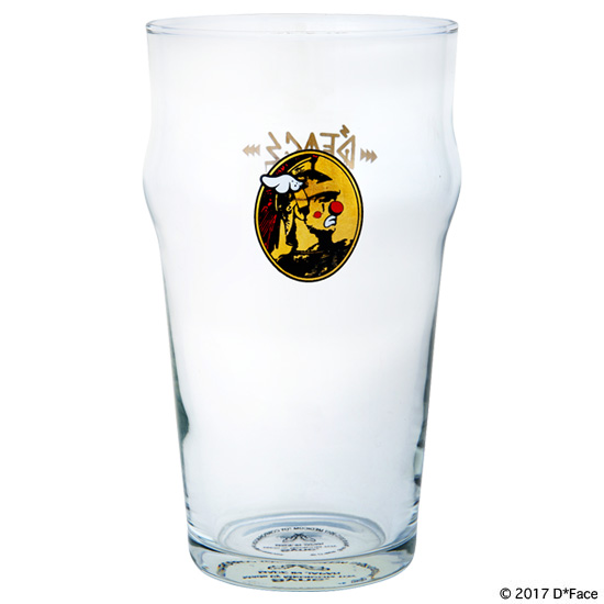 "PINT GLASS ""AMERICAN DEPRESS"""