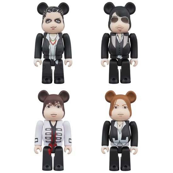 L'Arc-en-Ciel × BE@RBRICK 4PCS SPECIAL EDITION BOX