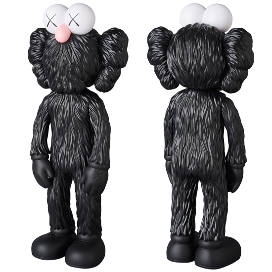 KAWS BFF OPEN EDITION BLACK