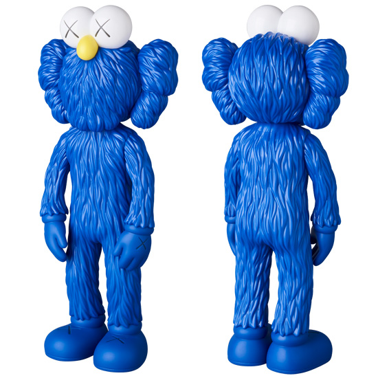 KAWS BFF OPEN EDITION BLUE