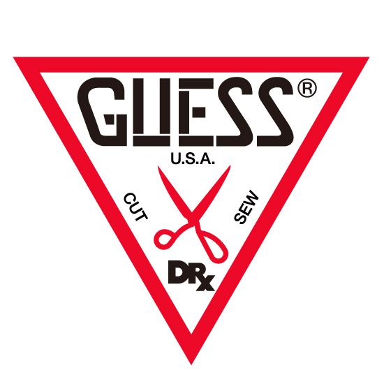 DRxROMANELLI x GUESS ONE OF KIND COLLECTION BE@RBRICK 1000%