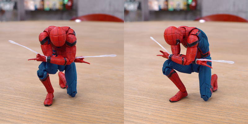 MAFEX SPIDER-MAN(HOMECOMING Ver.) サンプルレビュー