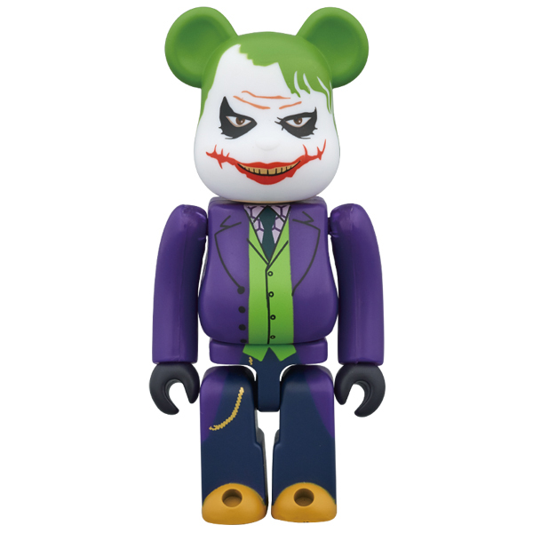 BE@RBRICK THE JOKER (LAUGHING Ver.) 100%
