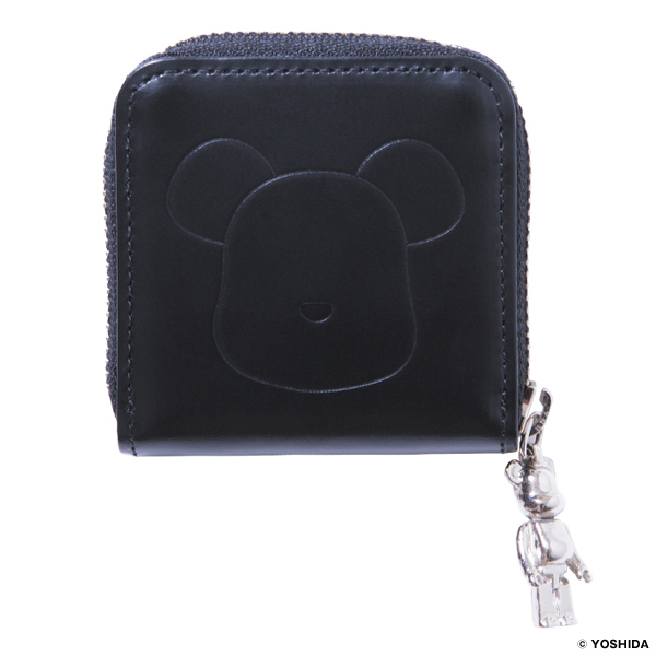 BE@RBRICK × PORTER Leather Collaboration Series COIN CASE