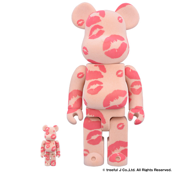 BE@RBRICK × Collecte De Zikzin YOU KISSED MY HEART 100% & 400%