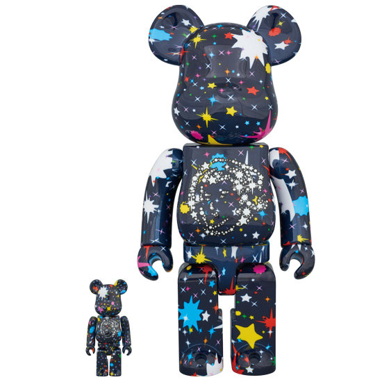 BE@RBRICK BILLIONAIRE BOYS CLUB STARFIELD 100% & 400%