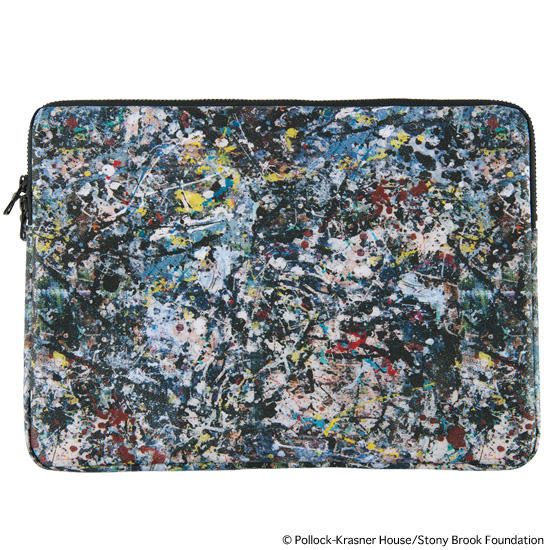 "NOTE PC CASE for 13inch ""JACKSON POLLOCK 2"""