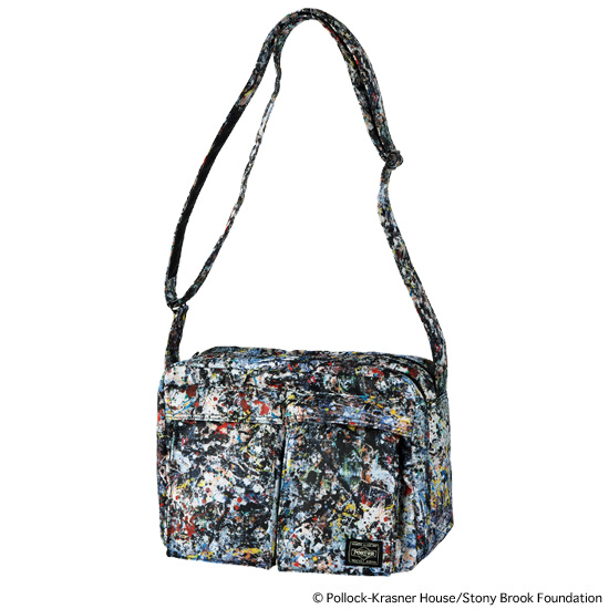 "SHOULDER BAG ""JACKSON POLLOCK 2"" made by PORTER"