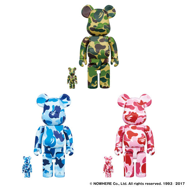ABC BE@RBRICK 100% & 400% SET