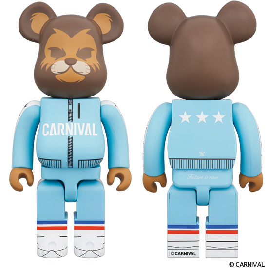 BE@RBRICK Carnival The Lion 400%