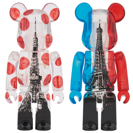 EIFFEL TOWER BE@RBRICK + TOKYO TOWER BE@RBRICK TWIM TOWER PACK