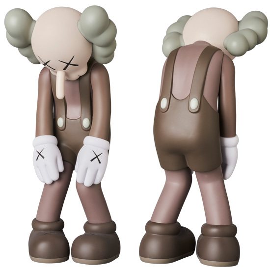 KAWS SMALL LIE BROWN