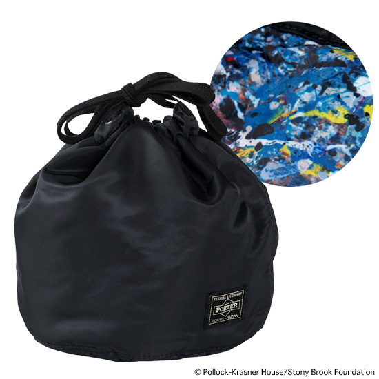 "PERSONAL EFFECTS BAG""JACKSON POLLOCK STUDIO"" made by PORTER"