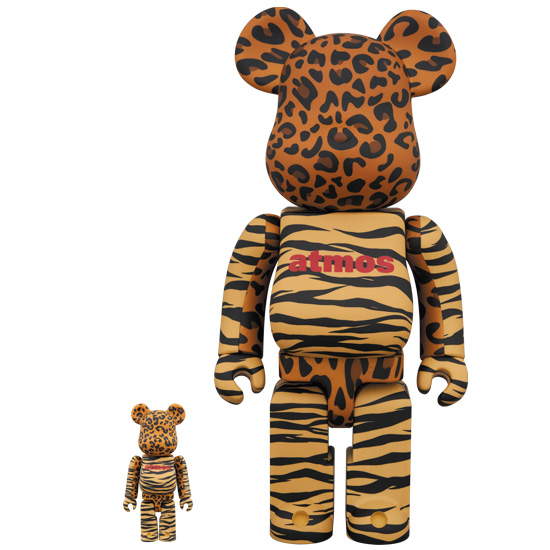 BE@RBRICK atmos ANIMAL 100% & 400%