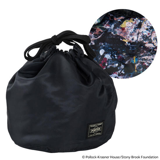 "PERSONAL EFFECTS BAG ""JACKSON POLLOCK STUDIO 2"" made by PORTER"