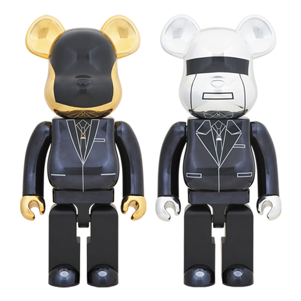 BE@RBRICK DAFT PUNK (Random Access Memories Ver.) 1000% GUY-MANUEL de HOMEM-CHRISTO/ THOMAS BANGALTER