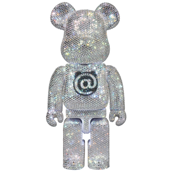 CRYSTAL DECORATE BE@RBRICK 400%