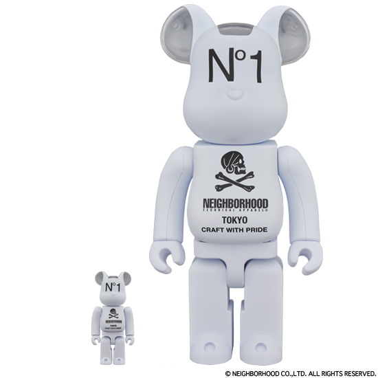 BE@RBRICK NEIGHBORHOOD 100% & 400%