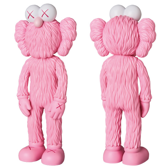KAWS BFF OPEN EDITION PINK