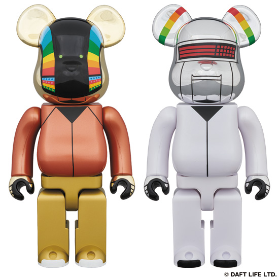 BE@RBRICK DAFT PUNK(DISCOVERY Ver.) 2 PACK 400%