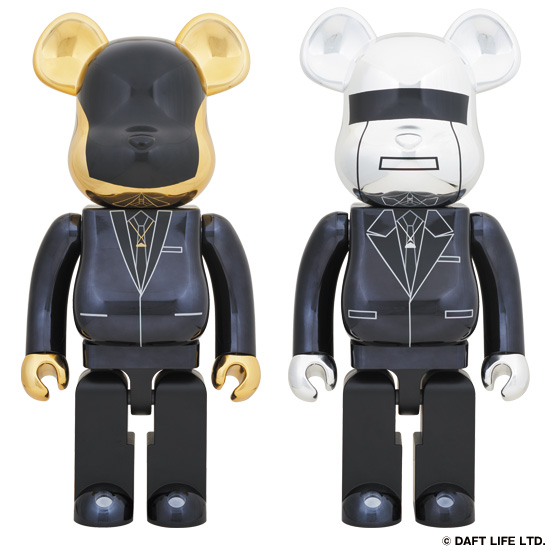 BE@RBRICK DAFT PUNK (Random Access Memories Ver.) 1000% GUY-MANUEL de HOMEM-CHRISTO/THOMAS BANGALTER