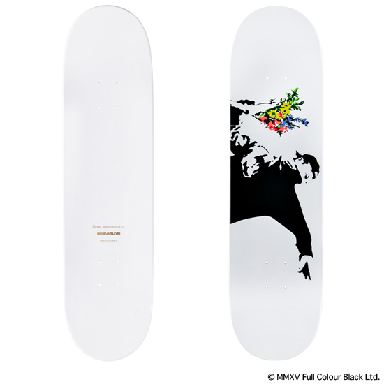"SKATEBOARD DECK ""FLOWER BOMBER"" 3rd"