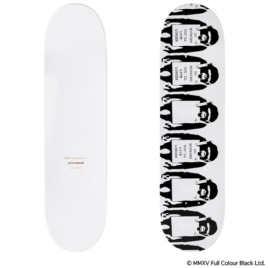 "SKATEBOARD DECK ""MONKEY SIGN"" 2nd"