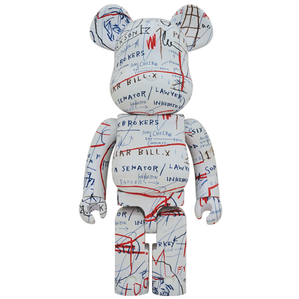 BE@RBRICK JEAN-MICHEL BASQUIAT #2 1000%